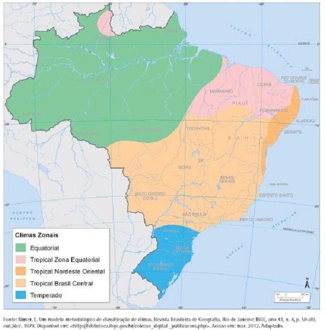 Clima tropical - Clima Tropical no Brasil