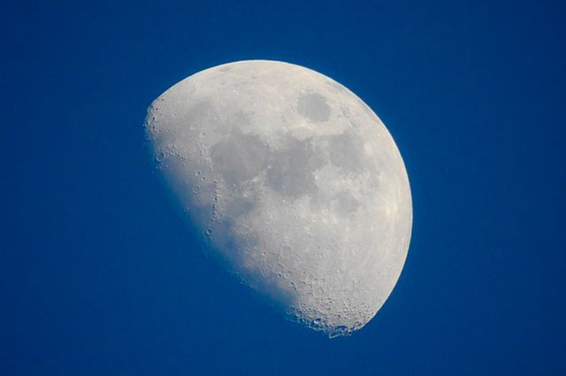 Fases da lua - Crescente