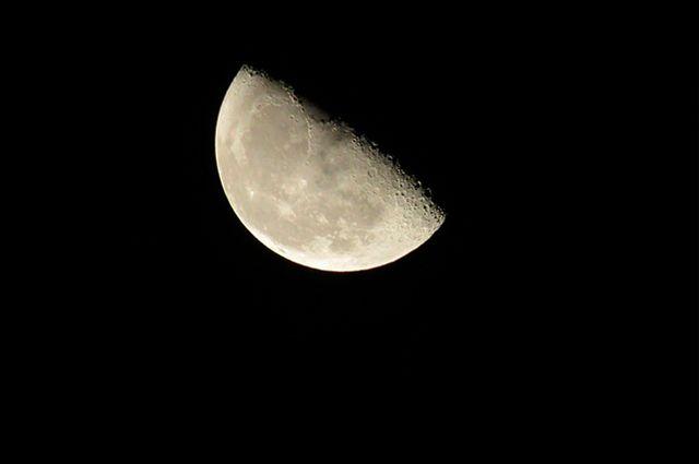 Fases da lua - Minguante