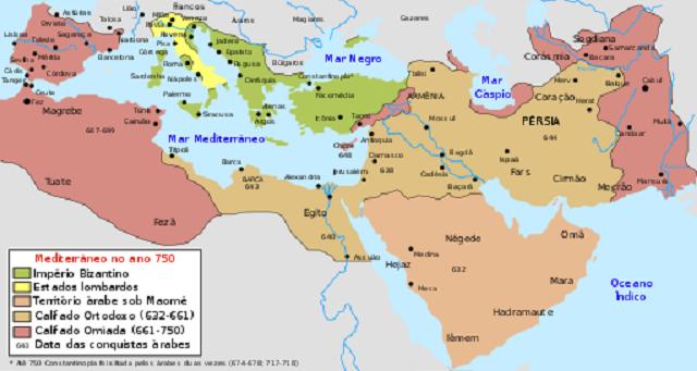 O Império Muçulmano e suas influências