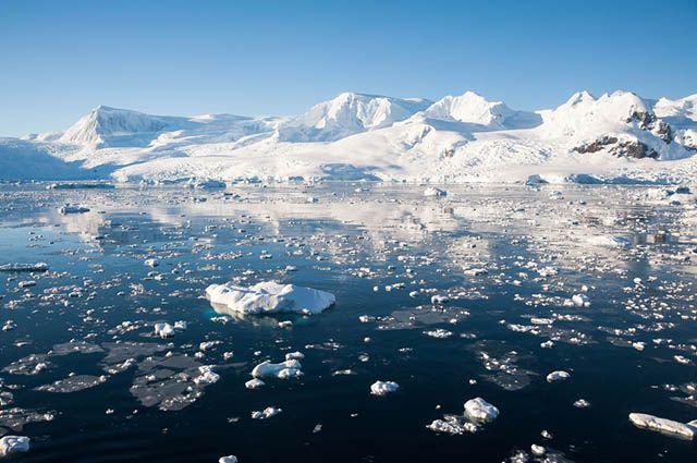 Regiões Polares - Derretimento das geleiras