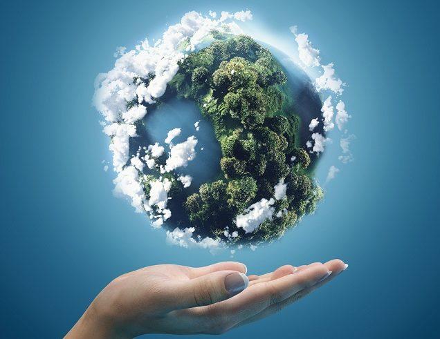"""o conceito Biosfera surgiu na""""Conferência sobre a Biosfera"""" em 1968 organizada pela UNESCO"""
