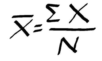Média aritmética - Média simples e ponderada