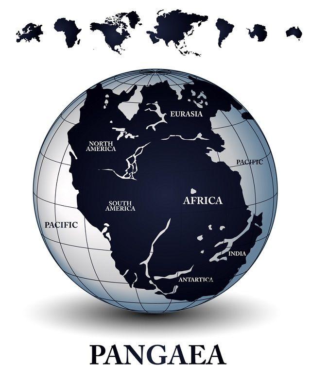 Deriva continental - Pangeia