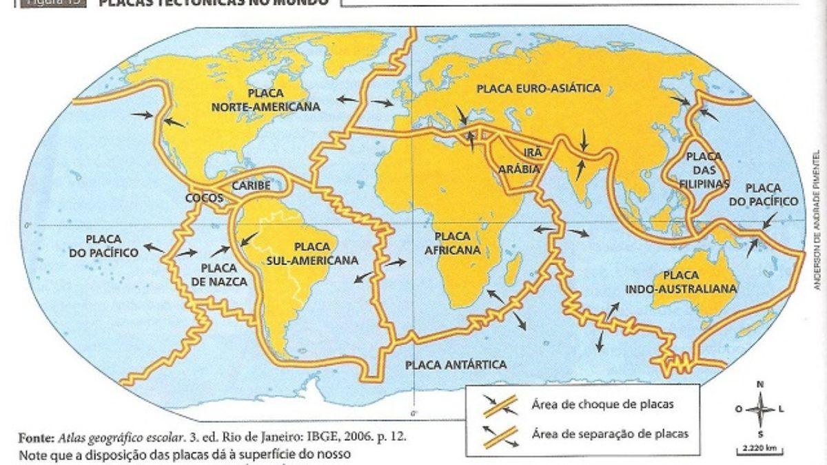Placas Tectonicas Movimentos E Limites Das Placas