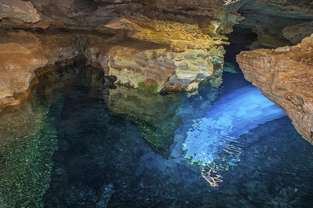 Poço Azul em Minas Gerais