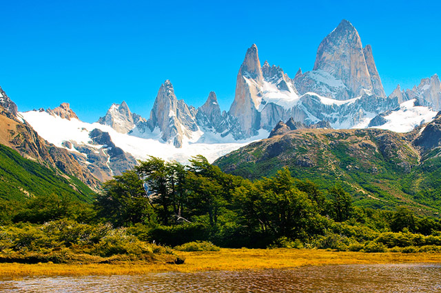 A América andina está localizada na América do Sul e corresponde a seis países