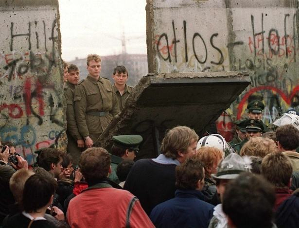 Queda do muro de Berlim - Estudo Prático