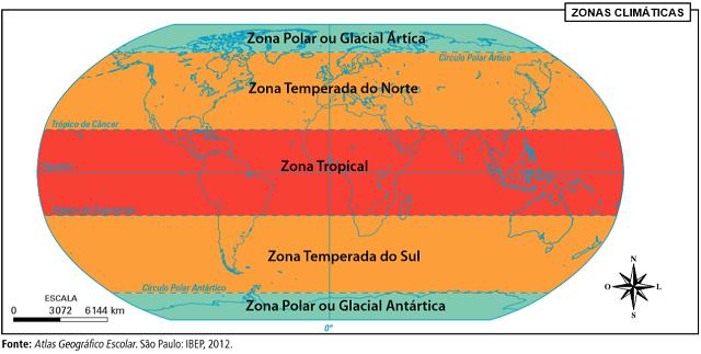 Resultado de imagem para zonas climáticas do MUNDO