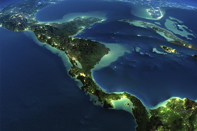 A constituição étnica da América Central tem como característica a miscigenação
