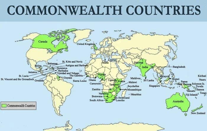 Conheça a Commonwealth, grupo de países que apoiam uns aos outros