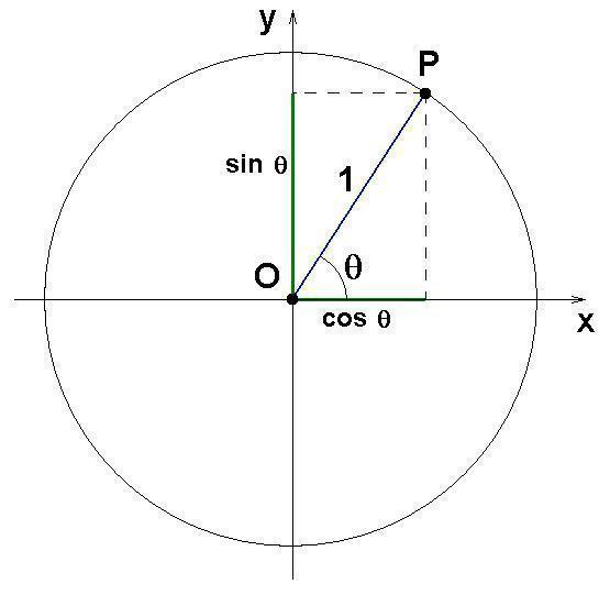 O ciclo trigonométrico