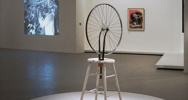 Peça do Marcel Duchamp