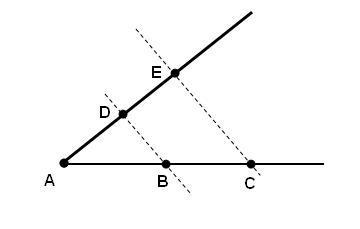 Razões e proporções