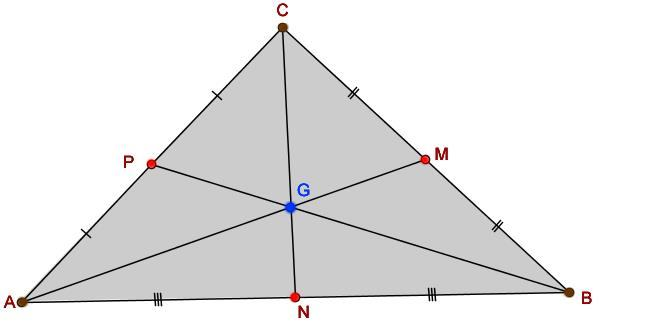 Baricentro do triângulo