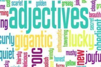 Grau dos adjetivos em inglês