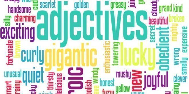 Adjetivos em inglês costumam vir antes do substantivo