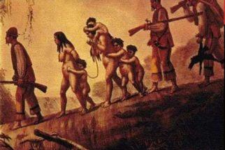Deslocamento da população indígena