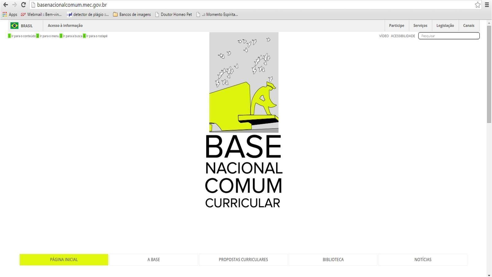 MEC lança portal para receber sugestões no ensino básico - Estudo ...