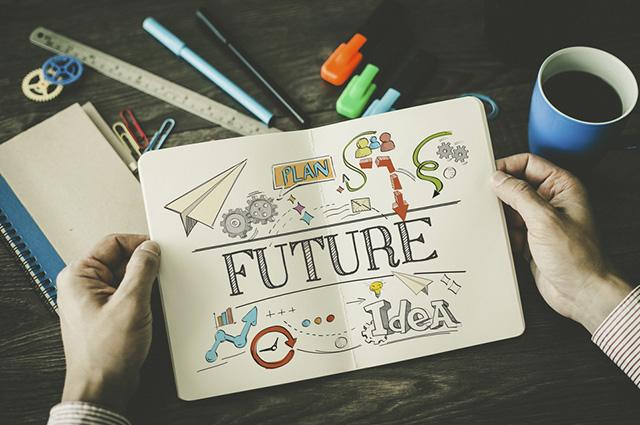 O futuro simples em inglês se difere quanto a forma usada em caso de certeza ou não