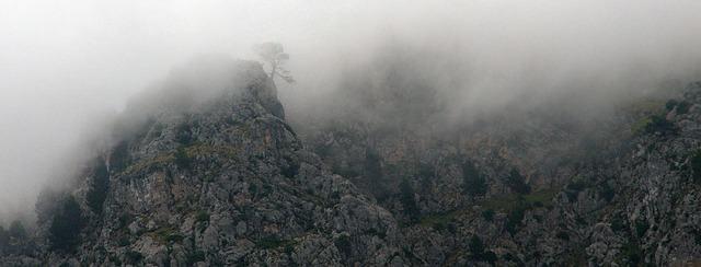 A formação da neblina
