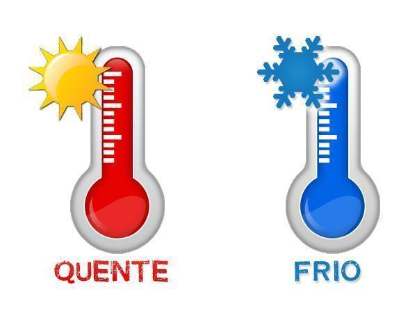 A vida: calor x frio