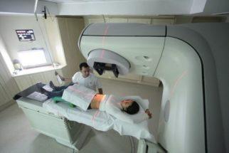 Aplicação medicinal da radioterapia