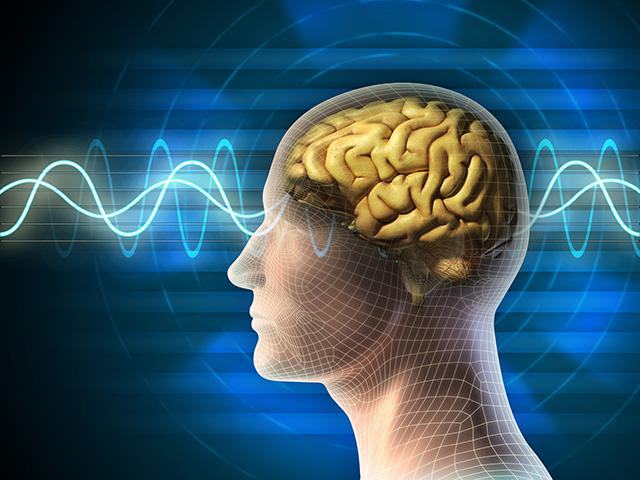 Imagem das ondas cerebrais