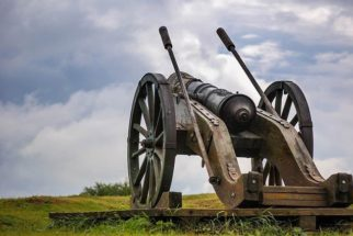 Canhões antigos: a 'boca' de fogo de artilharia