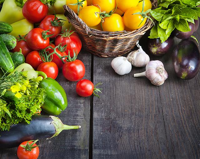 Imagem de frutas orgnânicas