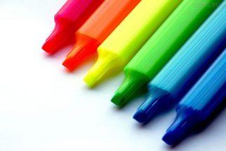 O surgimento das cores: nomenclaturas e características