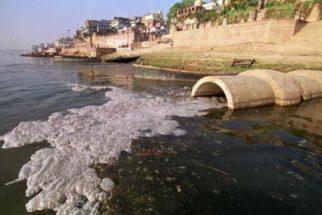 Poluição química dos rios