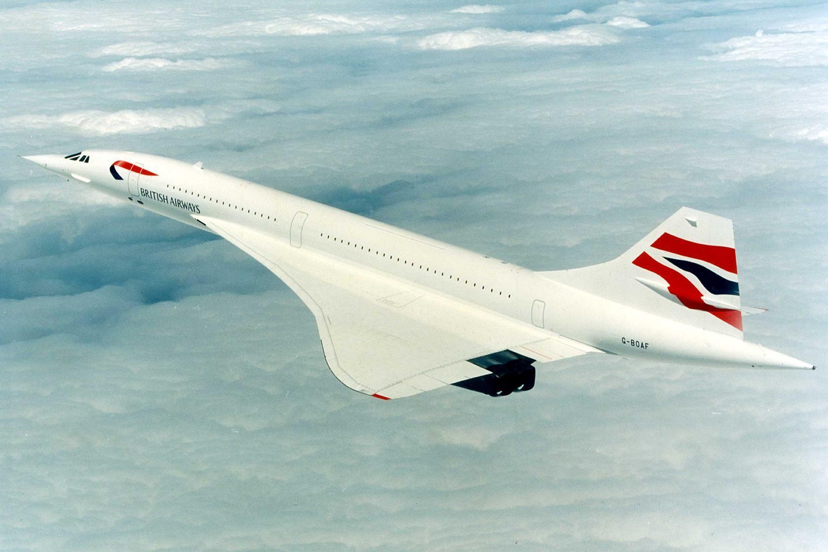 Primeiro voo comercial do Concorde - Estudo Prático