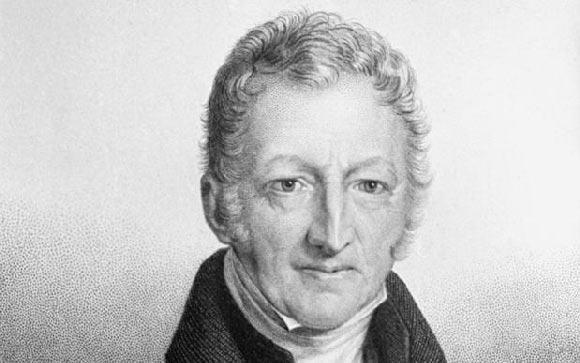 A vida e o legado de Thomas Malthus