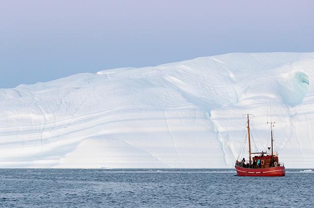 Camada de gelo na Groenlândia
