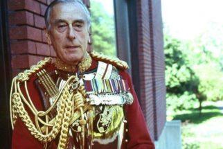 Lord Mountbatten: último vice-rei da Índia