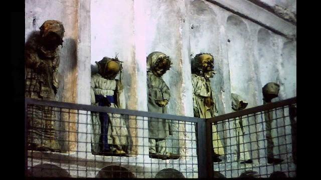 As Catacumbas dos Capuchinhos de Palermo