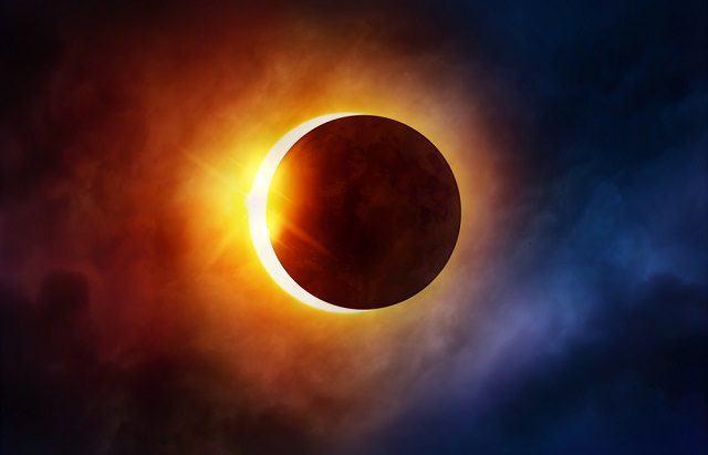 Eclipses do sol podem ser previstos