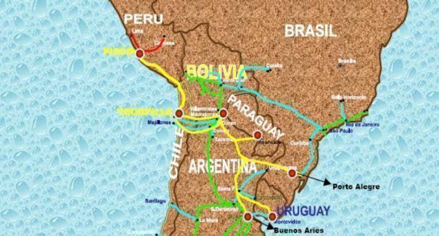 Anel Energético Sul- Americano - O projeto e suas divisões - Estudo ...
