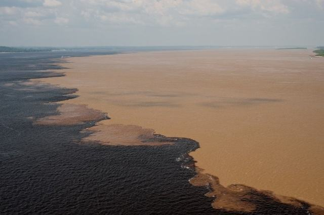 Encontro das Águas dos rios Negro e Solimões - Estudo Prático