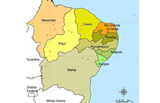 Complexo regional do Nordeste - Relevo, hidrografia, clima e ...