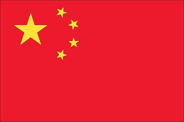 Significado da bandeira da China