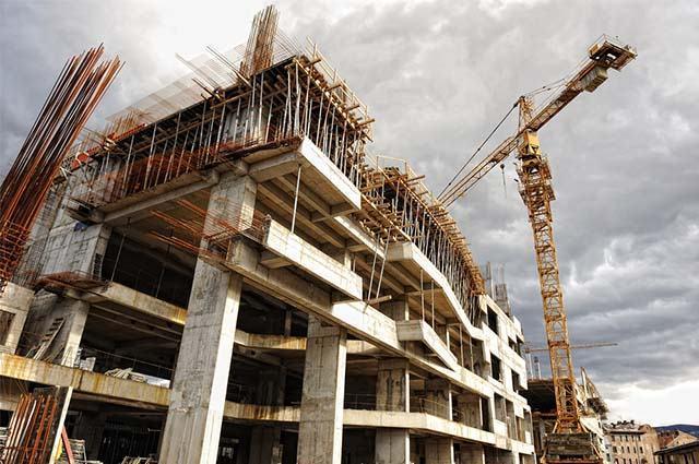 Construção de edifício