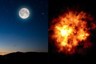 E se a lua explodisse, o que ocorreria?