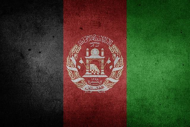 Imagem da bandeira do Afeganistão