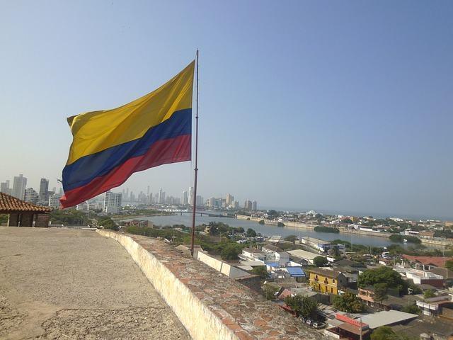 Significado da bandeira da Colômbia