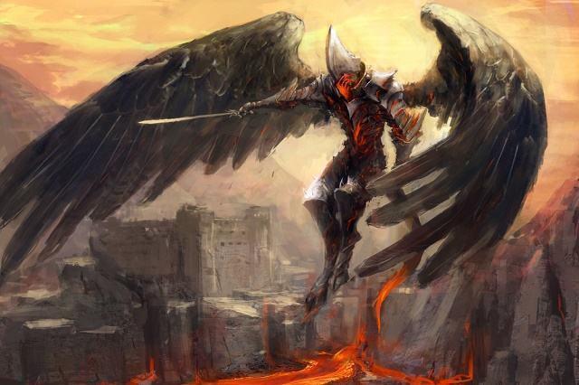 Ilustração do demônio