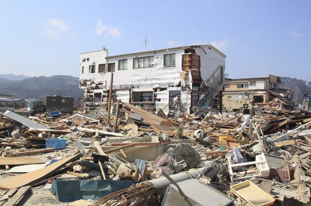 Casas destruídas