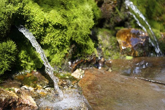 A água encontrada em fontes da natureza pode passar por processo de tratamento