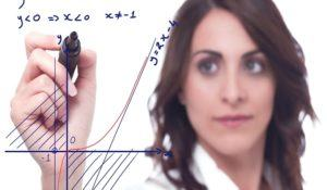 Intelligent woman solve a complicated mathematical function
